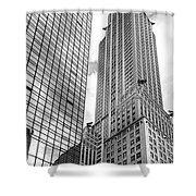 Hyatt And Chrysler Shower Curtain