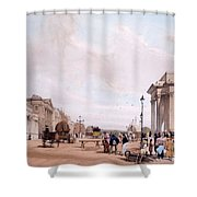 Hyde Park Corner, Looking Shower Curtain