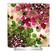 Hydrangea Shower Curtain
