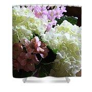 Hydrangeas Bouquet Shower Curtain