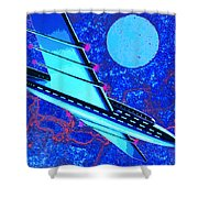 Hyperspace Shower Curtain