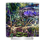 We Are Nonphysical Spiritual Energy, Each Part Of The Unity Of Total Divine Consciousness- Winter 3 Shower Curtain