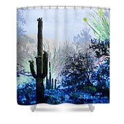 I Am.. The Arizona Dreams Of A Snow Covered Christmas, Regardless Of Our Interpretation Of- Winter 1 Shower Curtain