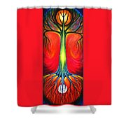 I And You Shower Curtain