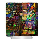 I Believe In The Coming Of Mashiach 31 Shower Curtain