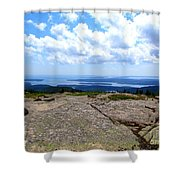 I Can See For Miles And Miles Shower Curtain