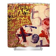 I Carry You In My Heart 2/4 Shower Curtain