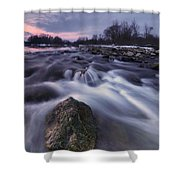I Follow River Shower Curtain by Davorin Mance