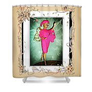 I Had A Great Time - Fashion Doll - Girls - Collection Shower Curtain