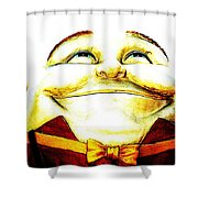 I Had A Thought Je Suis Charlie Shower Curtain