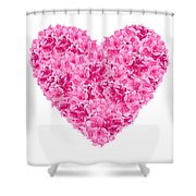 I Heart You Shower Curtain