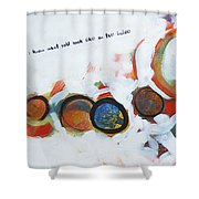 I Know What You Look Like Shower Curtain