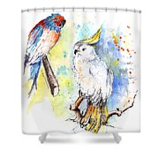I Like Your Style Shower Curtain