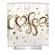 I Love Coffee Shower Curtain
