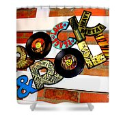 I Love Rock N Roll   Shower Curtain