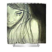 I Love You Dont Leave Me Shower Curtain