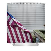 I Pledge Allegiance Shower Curtain by Brian Wallace