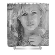I Still Breathe Your Name Shower Curtain