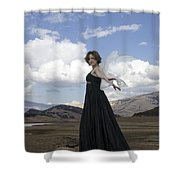 I Think I Can Fly Shower Curtain