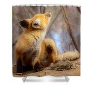 I Think I Got It Shower Curtain by Thomas Young