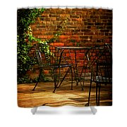I Waited For You Shower Curtain by Lois Bryan