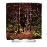 I Walk Alone Shower Curtain