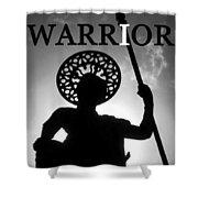 I Warrior Shower Curtain