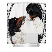 I-will-always-love-you  Shower Curtain