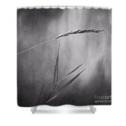 I Will Hold You In Black And White Shower Curtain
