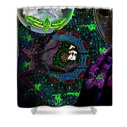 I Will See You Through Oz Shower Curtain