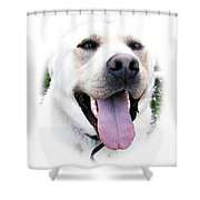 I Love You - I Woof You Shower Curtain