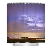 I25 Intra-cloud Lightning Strikes Shower Curtain by James BO  Insogna