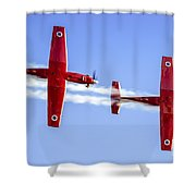 Iaf Flight Academy Aerobatics Team-a Shower Curtain