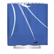 Iaf Flight Academy Aerobatics Team Shower Curtain
