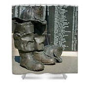 Iaff Fallen Firefighters Memorial 1  Shower Curtain