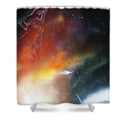 Iam Here Shower Curtain