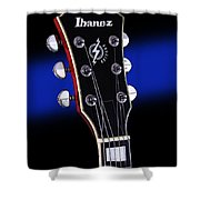 Ibanez Af75 Electric Hollowbody Guitar Headstock Shower Curtain