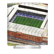 Ibrox Stadium Shower Curtain