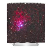 Ic 405, The Flaming Star Nebula Shower Curtain