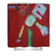 Icarus Max Shower Curtain