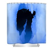 Ice 16 Shower Curtain