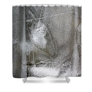 Ice 4 Shower Curtain