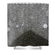 Ice 6 Shower Curtain