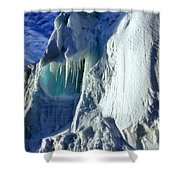 Ice Berg Up Close And Personal Shower Curtain