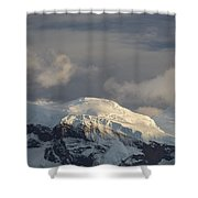 Ice-capped Mountains Anvers Island Shower Curtain