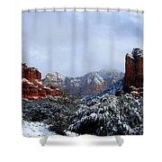 Ice Castles Shower Curtain