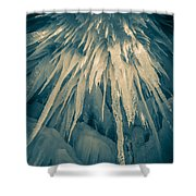 Ice Cave Shower Curtain