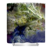 Ice Clouds Shower Curtain