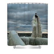 Ice Coat Shower Curtain