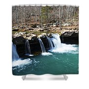 Ice Cold Beauty Shower Curtain